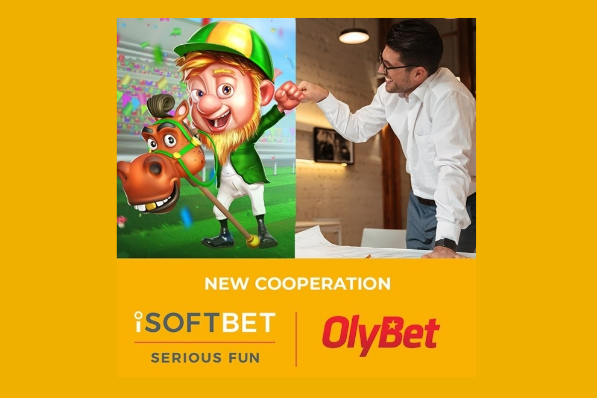 iSoftBet agrees content deal with OlyBet
