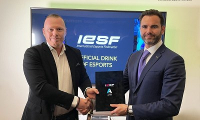 IESF Partners With Immun Active as Official Beverage