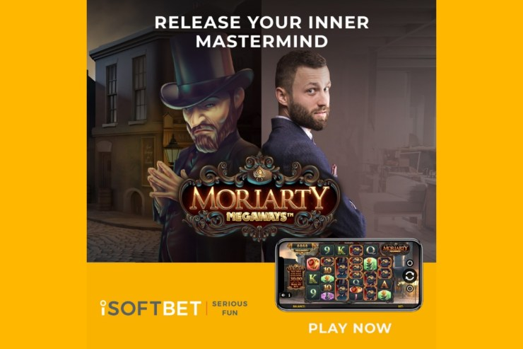 iSoftBet's flagship 2021 slot Moriarty Megaways™ goes on general release