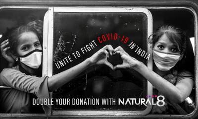 Natural8 - Unite to Fight Covid-19 in India