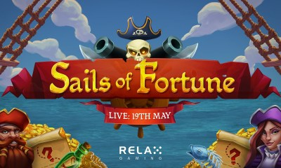 Relax Gaming's Sails of Fortune is Anchored in Gold