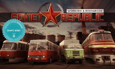 Workers & Resources: Soviet Republic Wins the Eighth Weekly Vote at the Game Development World Championship!