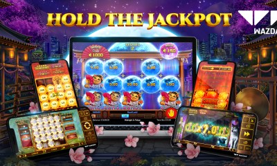 Wazdan's Hold the Jackpot feature keeps the momentum going