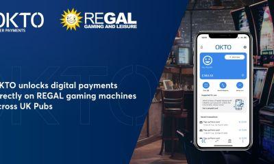 OKTO unlocks digital payments directly on REGAL gaming machines across UK Pubs