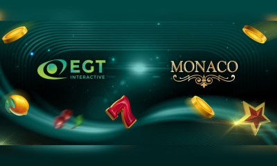 EGT Interactive Partners with Monacobet