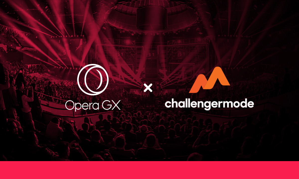 Challengermode partners with Opera GX to set up world's first grassroots esports organisers fund