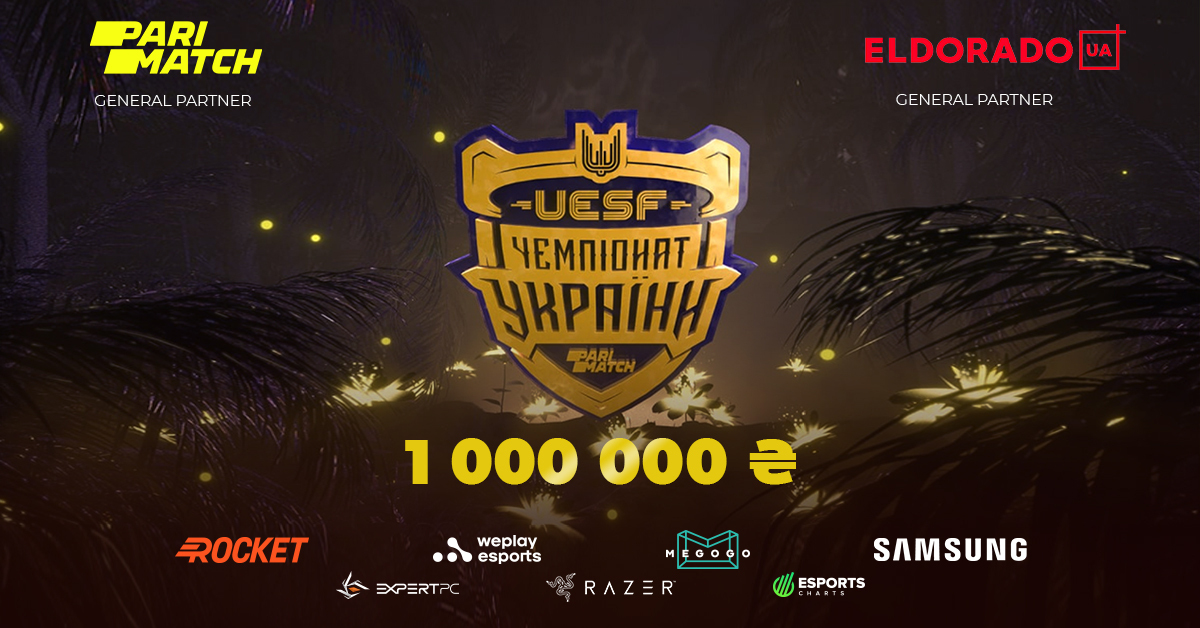 Parimatch partners with UESF for the Ukrainian Esports Championship of CS: GO and Dota 2