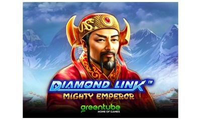 Greentube offers big win potential in Diamond Link ™: Mighty Emperor™