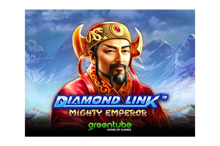Greentube menawarkan potensi kemenangan besar di Diamond Link ™: Mighty Emperor™