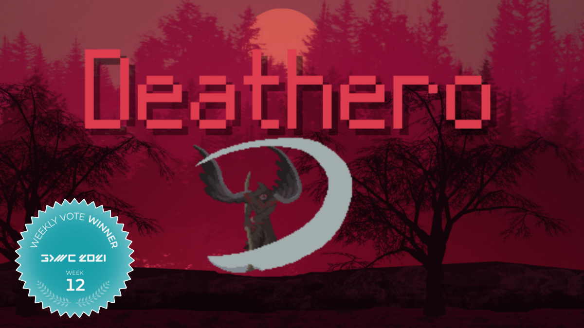 Deathero - A Mobile Roguelike Bullethell Game Wins Fan Favorite Voting Round 12 at The GDWC 2021