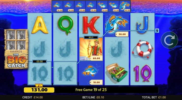 Blueprint Gaming mendapatkan hadiah besar dengan Fishin' Frenzy: The Big Catch
