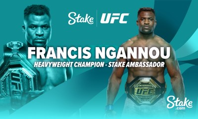 Francis Ngannou new Stake.com brand ambassador