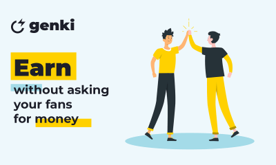 Genki launches a new way creators can earn without asking their fans for money