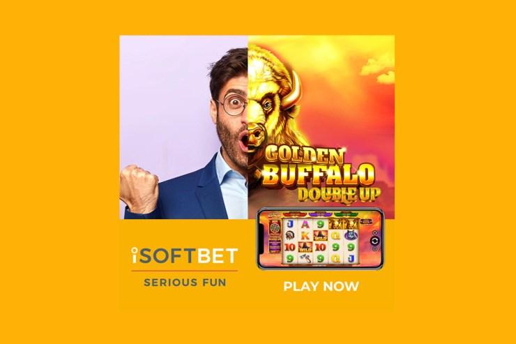 iSoftBet bersiap untuk meraih kemenangan di Golden Buffalo Double Up