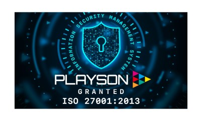 Playson nets ISO 27001 certification