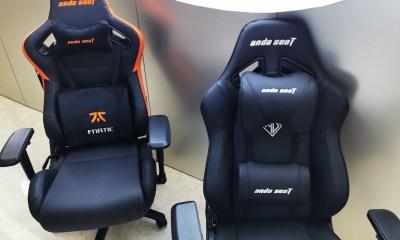 Leading gaming chair brand AndaSeat and FNATIC Esport team renew strategic partnership