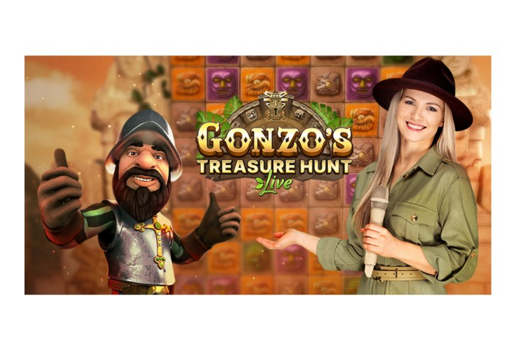 EVOLUTION LAUNCHES GONZO'S TREASURE HUNT™, BLENDING LIVE CASINO AND SLOTS, AS THE WORLD'S FIRST ONLINE GAME SHOW WITH VR MODE