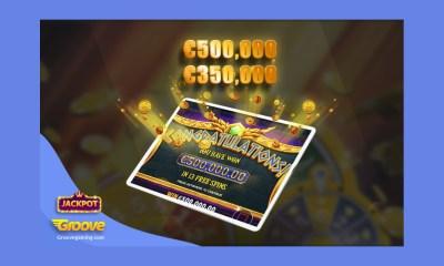 GrooveGaming operator BooCasino.com player winning €850,000 in just one day!