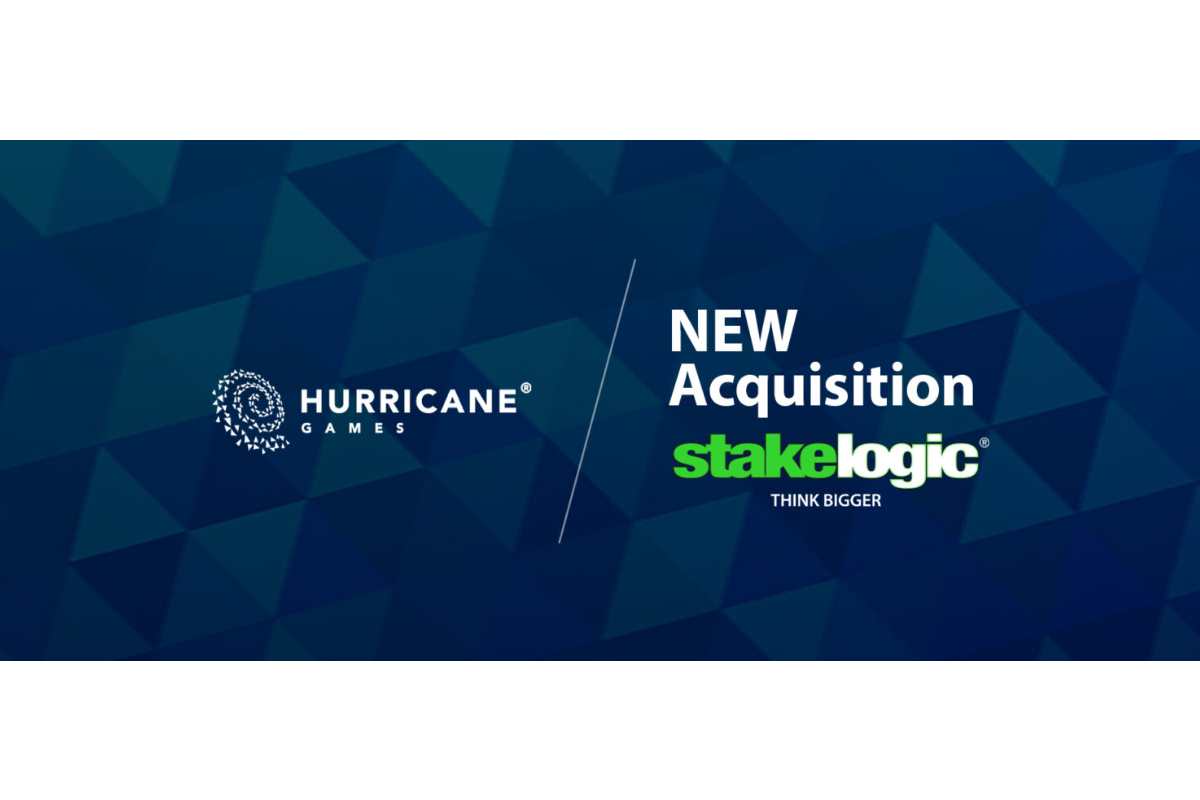 Stakelogic acquires Hurricane Games
