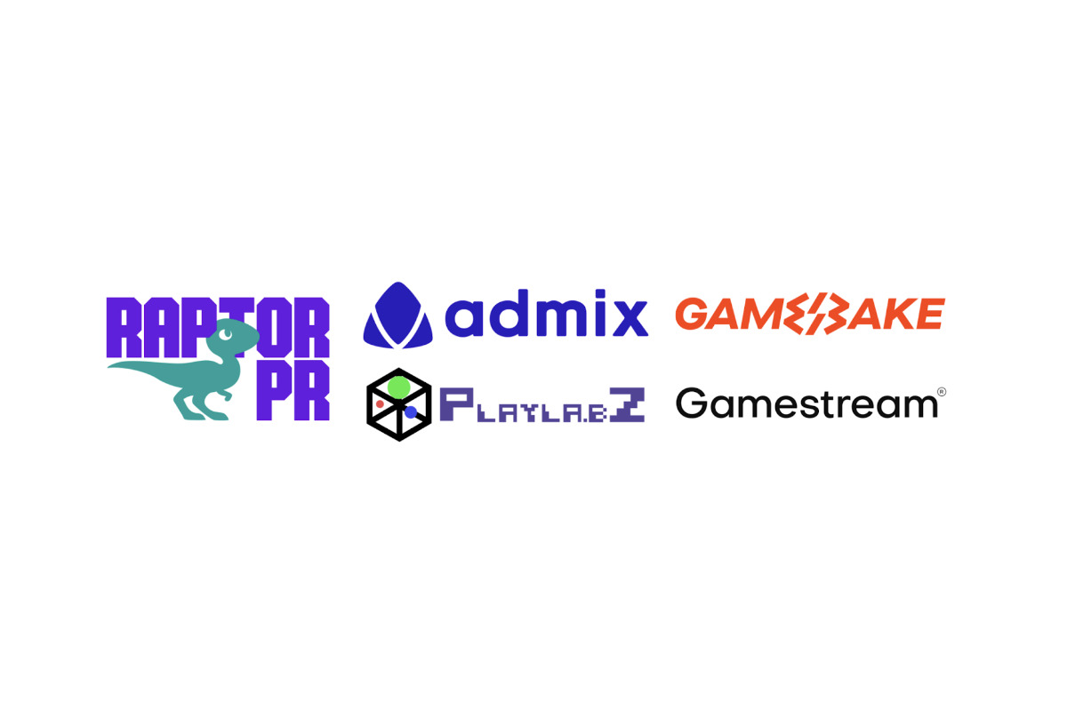 Admix, Gamestream, Gamebake and PlayLa.bZ Appoint Raptor PR as Agency of Record
