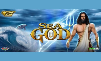 Set sail with Sea God from Stakelogic