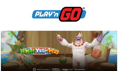 Play'n GO Checks In with Hotel Yeti-Way
