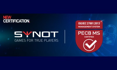 Synot Games Receives ISO/IEC 27001 Certification