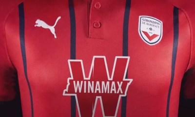 Winamax Becomes Principal Shirt Sponsor for FC Bordeaux