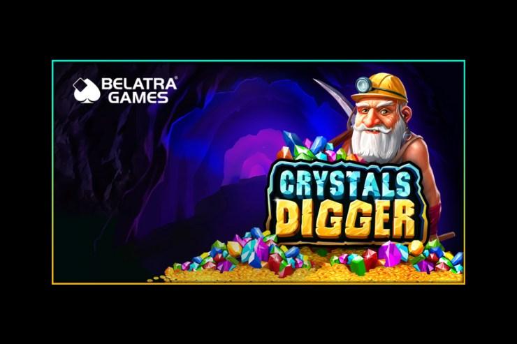 Belatra unearths precious Crystals Digger slot