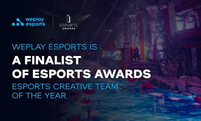 WePlay Esports is a finalist of Esports Awards
