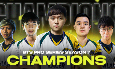 Galaxy Racer crowned Champions in the BTS Pro Series S7 Championship: SEA Title with a Reverse Sweep Win Against Fnatic