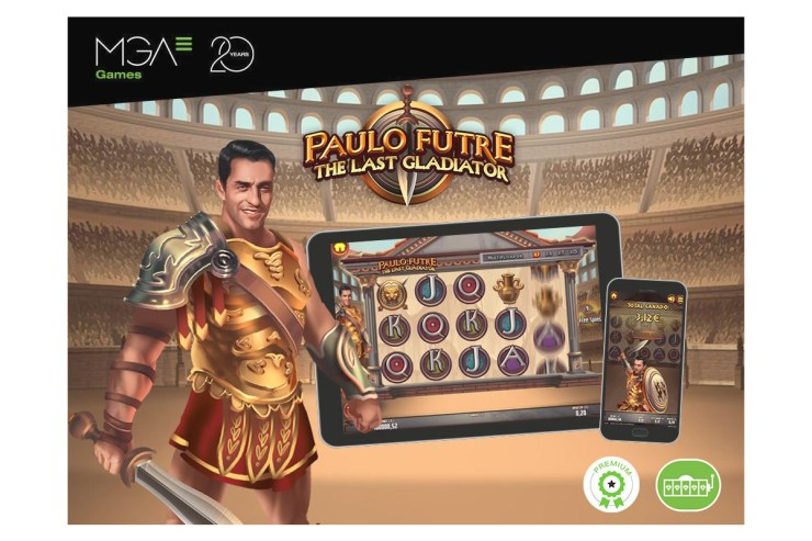 MGA Games launches 'Paulo Futre The Last Gladiator' in online casinos around the world