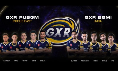 Galaxy Racer Announces Star-Studded Double Rosters for PUBG Mobile (Middle East) and BGMI (India)