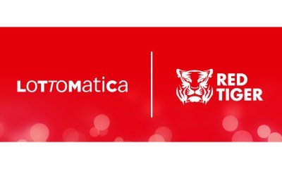 Red Tiger games live with Lottomatica
