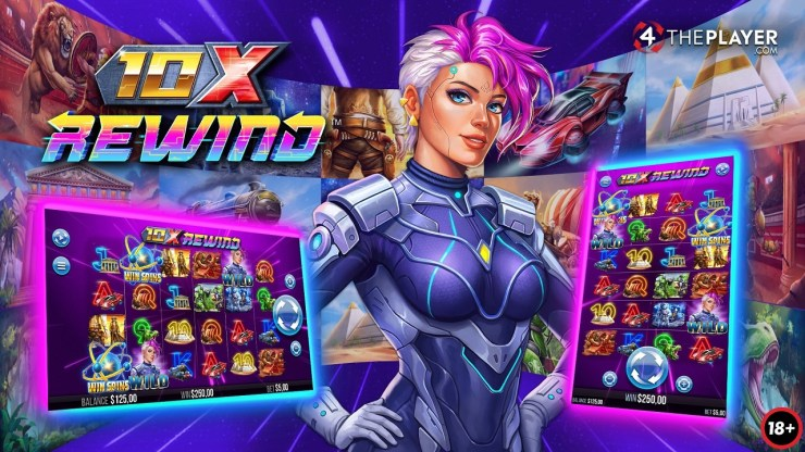 Yggdrasil and 4ThePlayer transition to a new dimension with time-travelling slot 10x Rewind™