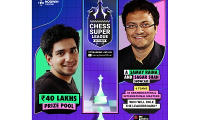 NODWIN GAMING PARTNERS WITH SAMAY RAINA AND CHESSBASE INDIA TO LAUNCH AN EXCITING ONLINE CHESS LEAGUE