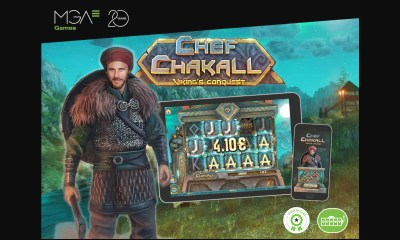 Chef Chakall Viking's Conquest from MGA Games, now available for all international markets