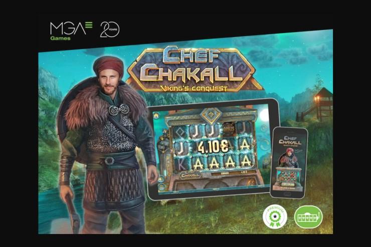 Penaklukan Chef Chakall Viking dari MGA Games, sekarang tersedia untuk semua pasar internasional