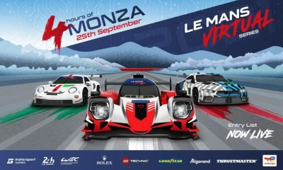 LE MANS VIRTUAL SERIES COMPETITORS READY FOR ROUND ONE AT ITALY'S TEMPLE OF SPEED