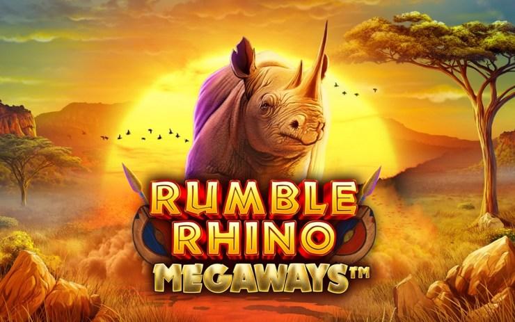 Pariplay menawarkan aksi mendebarkan dengan Rumble Rhino Megaways™