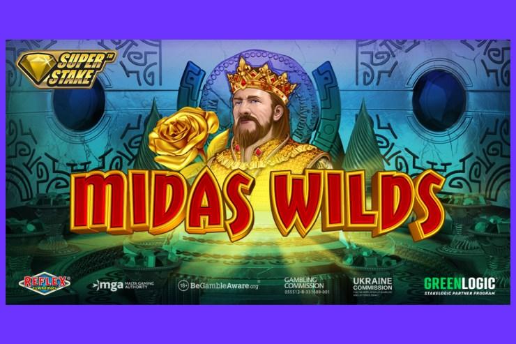 Memperkenalkan Midas Wilds dari Stakelogic & Reflex Gaming