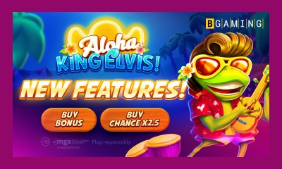 New extra features in Aloha King Elvis slot by BGaming!
