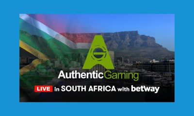 Authentic Gaming makes South Africa debut with Betway