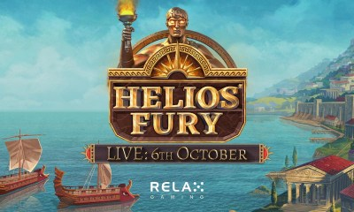 Relax Gaming sails into battle with new slot Helios' Fury