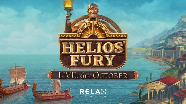 Relax Gaming berlayar ke pertempuran dengan slot baru Helios' Fury