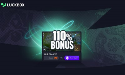 Luckbox launches new bonus to celebrate Worlds 2021 and TI10
