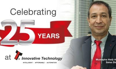 Quarter century milestone for Sales Director, Mustapha at ITL