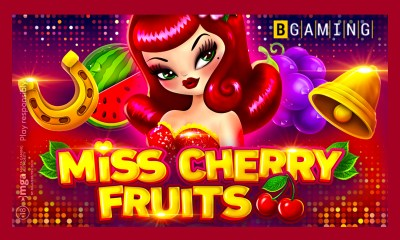 BGaming launches Miss Cherry Fruits slot