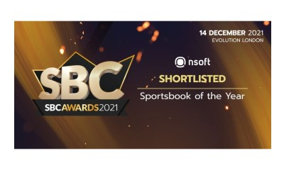 SBC Awards 2021: Four nominations for NSoft