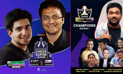The Chess Super League organized by NODWIN Gaming, ChessBase India and Samay Raina concludes with a bang